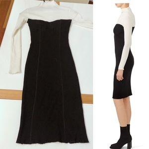 1cdf171ebf0 Women s Black And Rent The Runway White Dress on Poshmark